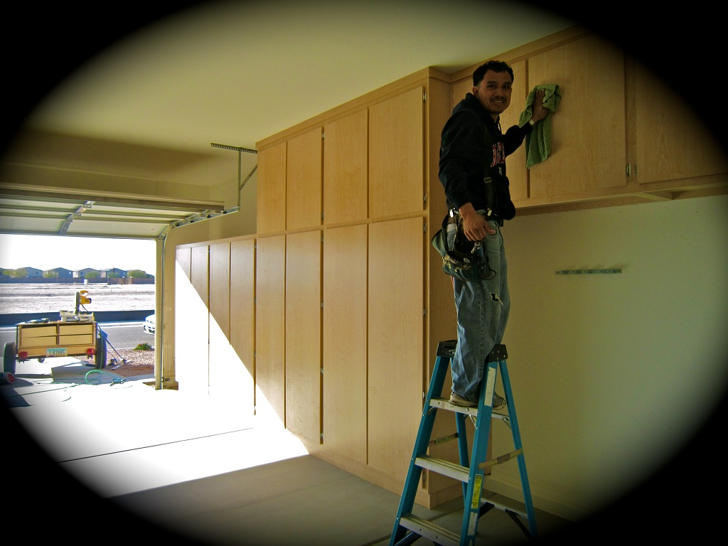 Juan-Reliable-Garage-Cabinets-first-installation.