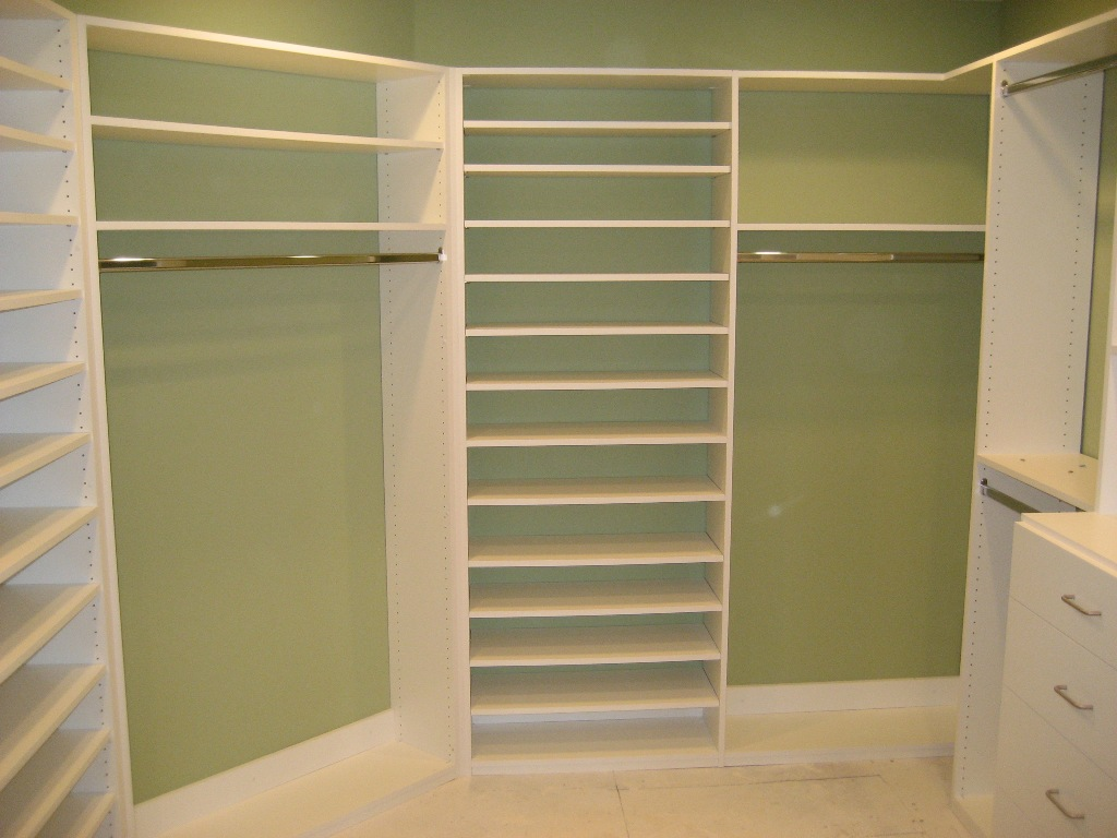 custom cabinets Walk-in-closet-organizer-by-Reliable-Cabinets-AZ